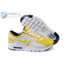 wholesale Nike Air Max Zero Yellow White Mens Running Shoes