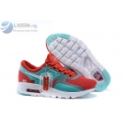 wholesale Womens Nike Air Max Zero White Blue Shoes