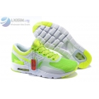 Womens Nike Air Max Zero Green White Shoes