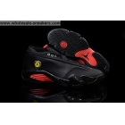 wholesale Air Jordan 14 Low Black Red Mens Sneaker