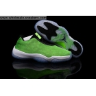 wholesale Womens Air Jordan Future Low Electric Green Sneaker