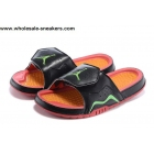 wholesale Jordan Hydro 7 Retro Slides Black Volt Mens Sandals