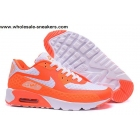 wholesale Womens Nike Air Max 90 HYP PRM Orange Running Shoes