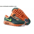 Kids Nike Air Max Zero Green Orange Shoes