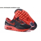 Kids Nike Air Max Zero Black Red Shoes