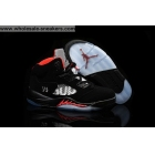 Air Jordan 5 SUPREME Bred Mens Sneaker
