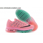 wholesale Womens Nike Air Max 2016 Pink Running Shoes