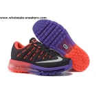 Womens Nike Air Max 2016 Black Red Purple Shoes