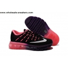 wholesale Womens Nike Air Max 2016 Black Pink Trainer