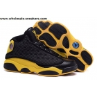 Air Jordan 13 Golden Nuggets PE Black Yellow Anthony Sneaker