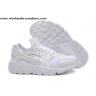 wholesale Nike Air Huarache All White Mens Running Shoes