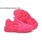 wholesale Womens Nike Air Huarache All Pink Running Shoes