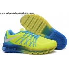 wholesale Nike Air Max 2015 Volt Blue Mens Running Shoes