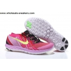 wholesale Womens Nike Free 3.0 Flyknit Pink Black Trainer