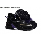 wholesale Nike LeBron 13 Black Purple Gold Mens Sneaker