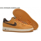 Nike Air Force 1 Low Khaki Coffee Mens AF1 Shoes