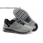 Mens Nike Air Max 2013 Grey Black Sneakers