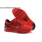 wholesale Red Nike Air Max 2013 Mens Running Shoes