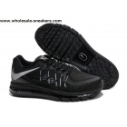wholesale Nike Air Max 2015 Black Mens Running Shoes