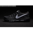 Nike Flyknit Max Black Mens Running Shoes