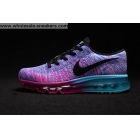 Womens Nike Flyknit Max Purple Running Shoes
