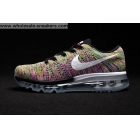 Womens Nike Flyknit Max Multi Color Running Shoes