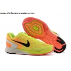 wholesale Nike Flyknit LunarGlide 7 Sunset Glow Mens Trainer