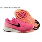 wholesale Womens Nike Flyknit LunarGlide 7 Pink Running Shoes