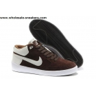 wholesale Nike Street Gato AC Coffee White Mens Casual Shoes