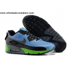 wholesale Nike Air Max 90 V SP Blue Black Mens Patch Sneakerboot
