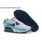 Womens Nike Air Max 90 V SP White Royal Sneakerboot Patch