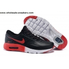 wholesale Nike Air Max Zero QS Black Red White Leather Trainer