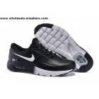 wholesale Nike Air Max Zero QS Black White Mens Leather Trainer