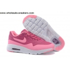 Kids Nike Air Max 1 Ultra Moire Pink White Shoes