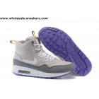 Nike Air Max 1 Mid H2O Repel Grey Mens Sneakerboot