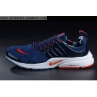 Nike Air Presto Suede Blue Red Mens Running Shoes