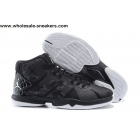 wholesale Jordan Super Fly 4 Black White Mens Basketball Shoes