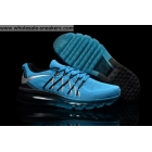 Nike Flyknit Air Max 2015 Blue Black Mens Shoes