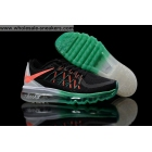 wholesale Womens Nike Air Max 2015 Black Green Shoes