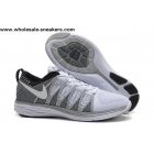 Nike Flyknit Lunar 2 Grey White Mens Running Shoes