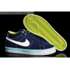 wholesale Nike Match Supreme Mid Blue White Mens Casual Shoes
