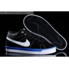 wholesale Nike Match Supreme Mid Black White Mens Casual Shoes