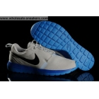 Nike Roshe Run NM BR Grey Blue Mens Suede Trainer