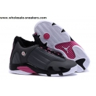 Womens Air Jordan 14 Winterized Grey Pink Shoes