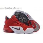 Nike Air Penny 6 Red Suede Mens Basketball Shoes