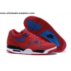 Nike Air Flight 89 Red Blue Mens Basketball Shoes