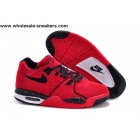 Nike Air Flight 89 Red Suede Mens Basketball Shoes