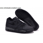 wholesale Nike Air Flight 89 All Black Mens Basketball Shoes