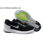 wholesale Nike LunarGlide 6 Black White Mens Running Shoes