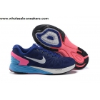 wholesale Womens Nike LunarGlide 6 Blue White Girls Trainer